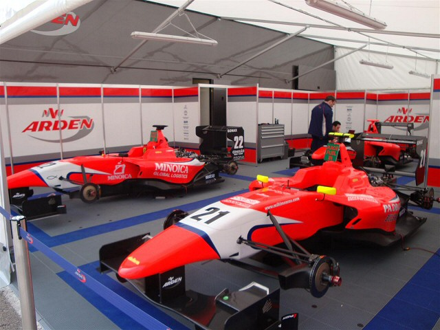 As Used By Arden International Motorsport